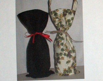 Wine Bottle Cover PATTERN - PDF