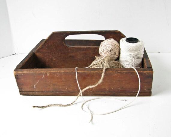 Vintage School Craft Drawer Organizer