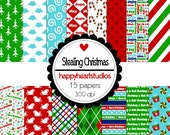 Digital Scrapbook Stealing Christmas-INSTANT DOWNLOADS