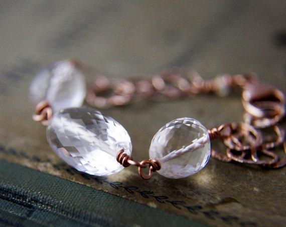 Jewelry  Rose Gold Bracelet Gemstone Jewelry Crystal Quartz Fall Fashion