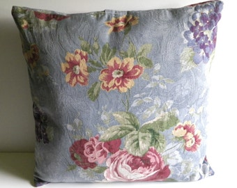 16 Inch Pillow Cover (Floral Pattern 3)