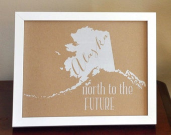 State Love Print - Framed