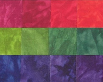 Starr Design 30 Pack Fat Quarters Prism  Hand Dyed Cotton Fabrics