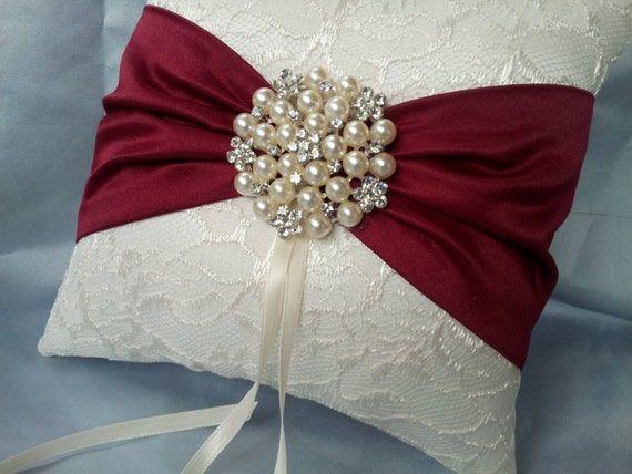 ring bearer pillow ivory ring bearer pillow lace ring pillow pearl 29481