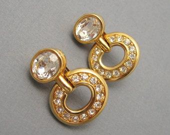 Swarovski Crystal Earrings Dangly E5514