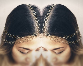 Cleopatra Chains HeadPiece No. 3 - Domestic Free Shipping