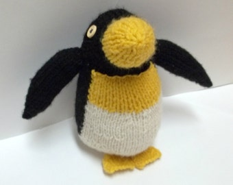 Plush Penguin - Amigurumi Penguin - Handmade Stuffed Animal