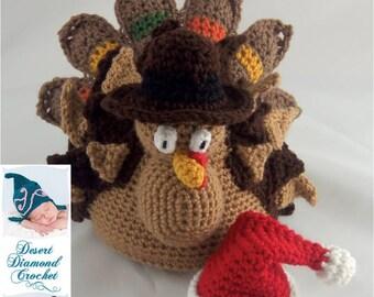 Crochet Pattern 089 - Holidurkey Turkey Holiday Decoration
