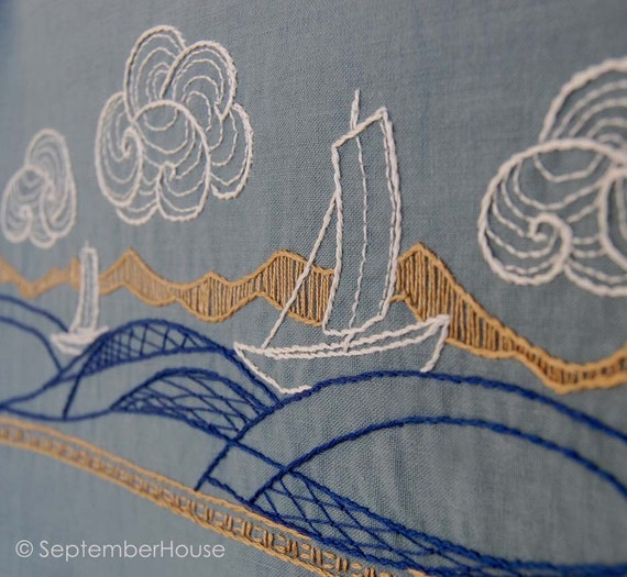 Hand Embroidery Patterns WIND And WATER Japanese By SeptemberHouse