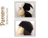 Knitting Pattern Ear Warmers 2 Styles