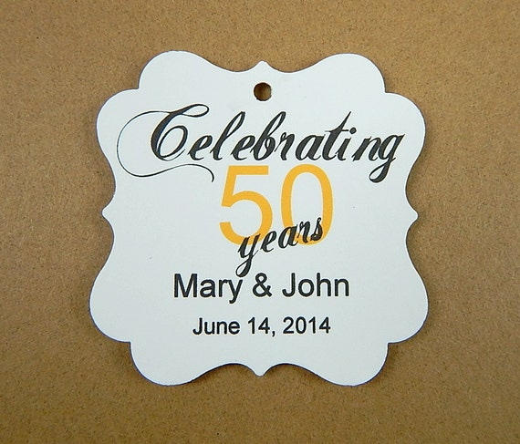 50th Wedding Anniversary Gift Tags : 50th Wedding Anniversary Gift Tags2