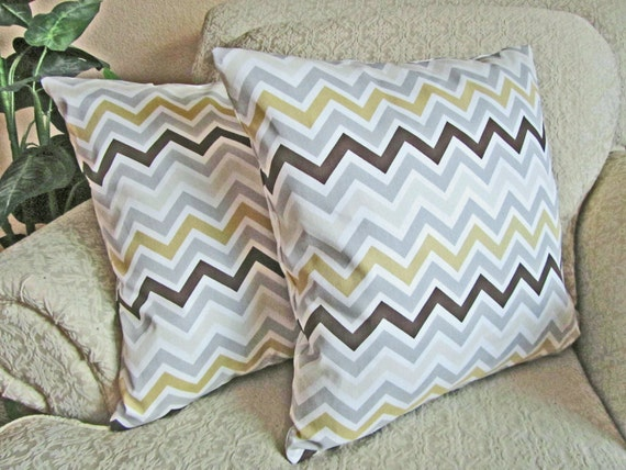 Cute Neutral Throw Pillows : Neutral Chevron Throw Pillow Covers by asmushomeinteriors on Etsy