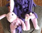 "Beanie Baby Scarf named ""FLOPPITY"""