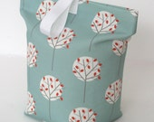 Sea Green Fabric Doorstop Moonlight Tree print Door Stop Doorstopper