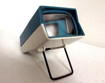Turquoise and white Mico Tele-Vue Slide viewer