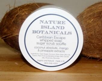 Caribbean Escape Whipped Soap Sugar Soufflé . So Love This