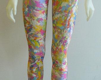 2 LEFT   Rainbow Marble Legging
