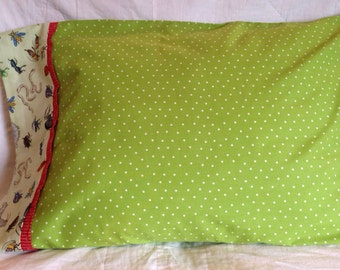 Pillowcase for the insect lover