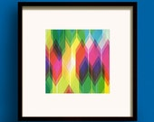 Prism No.2 - Square Giclee Print