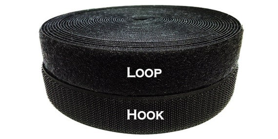 Loop And Hook >> 5 8 Inch 10 Yds Sew On Hook And Loop Ykk Brand Style Purchase