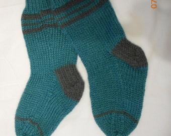 Child Wool Socks, Hand Knit Socks, Childrens Socks, Kids Socks