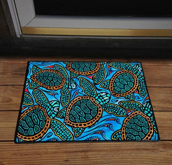 Baby Turtles 18 X 24 Door Mat Floor Mat Home By Stephaniekiker