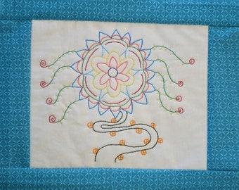 """PDF Stitchery Pattern """"Circus Vine"""" Embroidery"""
