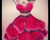Poppy Party Dress