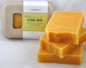 Citrus Wood earthy conditioning shampoo bar
