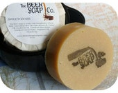 Sweetgrass Beer Soap- Made with Hoegaarden White Ale