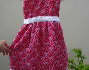 Adorable Lined Flare, Decorative Toddler Girl's Dress in 12M, 3T, or 5T -  Abbie 2861