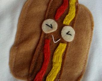 Hot Dog Onesie