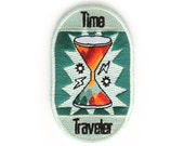 Time Traveler Iron On Patch