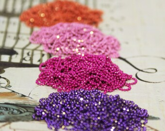 4 colored ball chains
