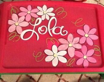 Flower Lap Tray
