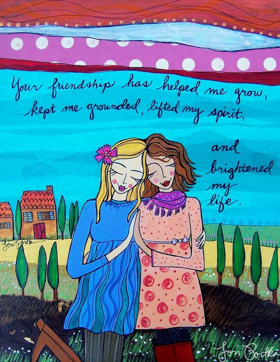 Greeting Card : Your Friendship #150-C