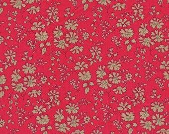 Liberty of London Fabric Capel Red Fat Quarter