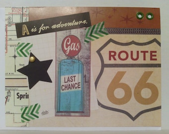 Route 66 Adventure Card