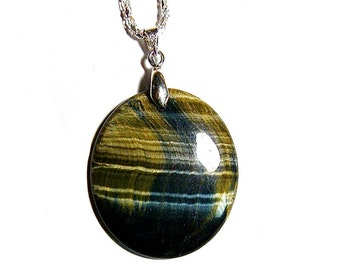 Blue and Yellow Tiger-Eye