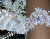 Sale Wedding Garter,Lace Garter,Something Blue,Garter Set, Ivory Wedding Garter,Plus Size Garter,Plus Size Bride,Bridal Accessories,Bridal