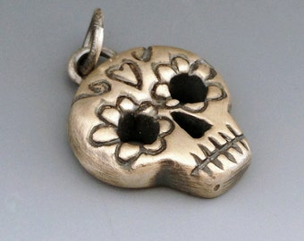 Day of the Dead Skull Pendant