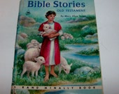 1954 Old Testament Bible Stories Children's Book by Rand McNally