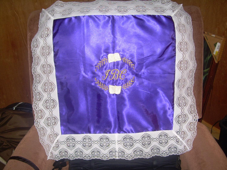 custom church lap scarves personalized lap cloths lace lap