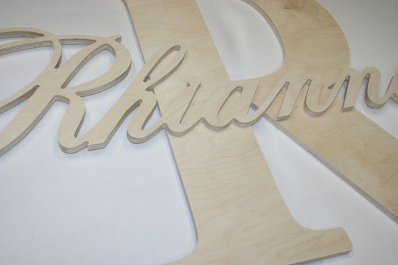 do it yourself lettering unpainted do it yourself monogram initial wooden letters 21390 | il 570xN.556007712 2yt1