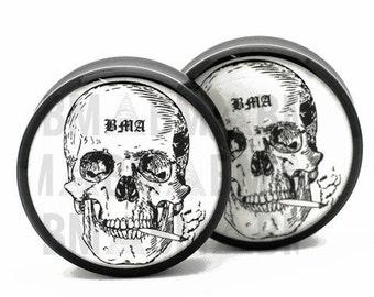 2g (6mm) Smoking Skull BMA