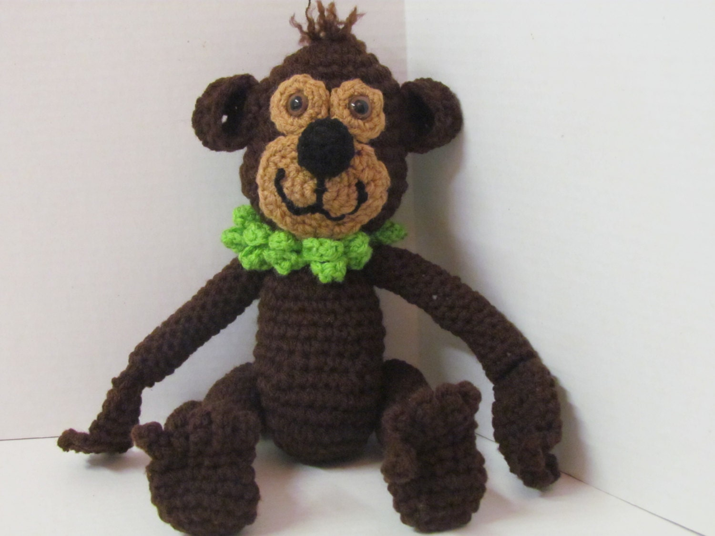 Amigurumi Stuffed Animals : Amigurumi Monkey/ Crochet Monkey/ Stuffed Animal/Handmade Toy/