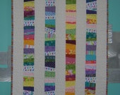 Tipping Coins - Modern Baby Girl All Cotton Quilt