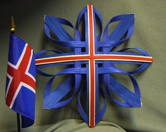 Star of Iceland - Hand Woven Nordic Star