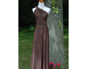 USA, Floor length convertible dress, infinfity dress, bridesmaids dress
