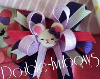 Mousing Around  hairbow M2MG M2M gymboree from Double-lynbows